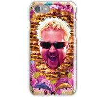 guy fieri's dank frootie glaze iPhone Case/Skin
