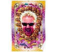 guy fieri's dank frootie glaze Poster