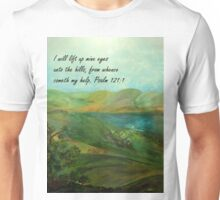 I Will Lift Up Mine Eyes Unisex T-Shirt