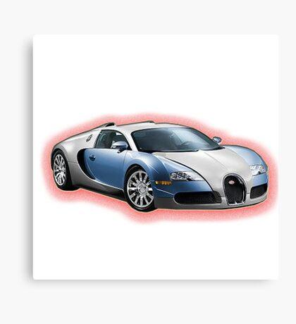 Super Car Canvas Print