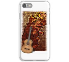 Donkey Kong & Guitar iPhone Case/Skin