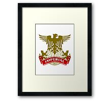 The Imperial Coat-of-Arms Framed Print