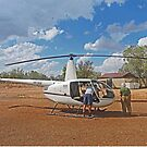 Bungle Bungles Helicopter by Graeme  Hyde