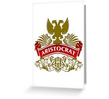 The Aristocrat Coat-of-Arms Greeting Card