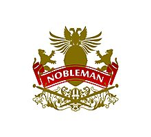 A Nobleman Coat-of-Arms Photographic Print