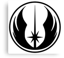 Jedi Canvas Print