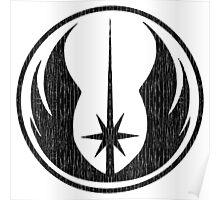 Jedi (distressed) Poster