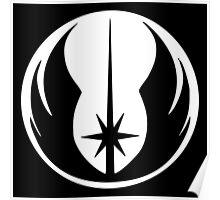 Jedi (white) Poster