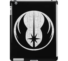 Jedi (white, distressed) iPad Case/Skin