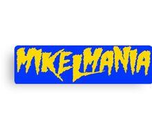 Mikelmania Yellow Canvas Print