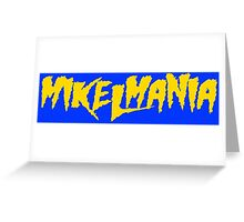 Mikelmania Yellow Greeting Card