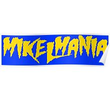 Mikelmania Yellow Poster