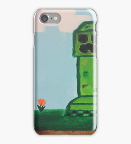 Creepin' on your flowers iPhone Case/Skin
