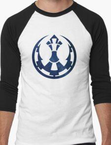 Torn Men's Baseball ¾ T-Shirt