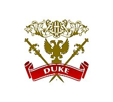 A Duke Coat-of-Arms Photographic Print