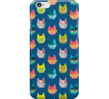 Clever Cats (Colorway 1) iPhone Case/Skin