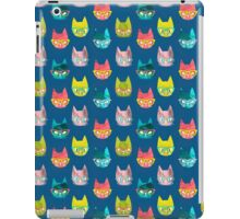 Clever Cats (Colorway 1) iPad Case/Skin