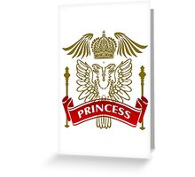 The Princess Coat-of-Arms Greeting Card