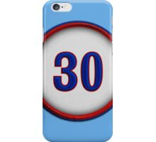 30 - Rock (alt version) iPhone Case/Skin
