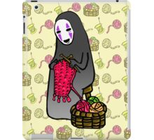 Crafts with No-Face iPad Case/Skin