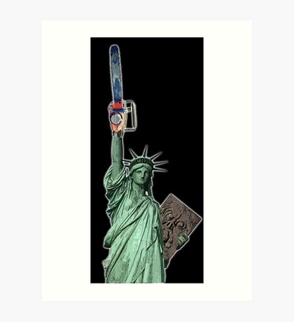 Give me some liberty baby Art Print