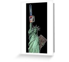 Give me some liberty baby Greeting Card