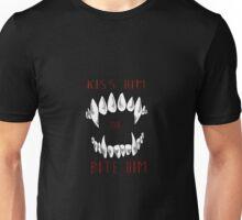 Kiss Him or Bite Him Unisex T-Shirt