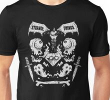 Ghouls, Ghosts, Gems & Daggers (WHITE) Unisex T-Shirt