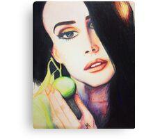 Lana Del Rey  Canvas Print