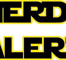 Nerd Alert Star Wars Font by blueeyez96