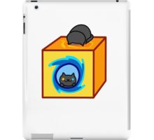 Neko Atsume - Pepper (Now You're Thinking With Portals) iPad Case/Skin