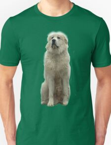 The Great Pyrenees mountain dog Unisex T-Shirt