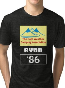 The Cool Weather Ryan 86 Design Tri-blend T-Shirt