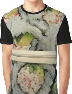 California Roll Graphic T-Shirt
