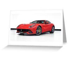 Ferrari F12berlinetta Greeting Card