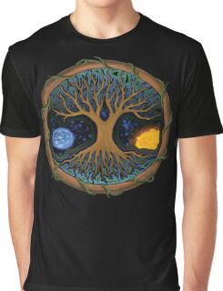 Astral Tree of Life Graphic T-Shirt