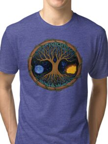 Astral Tree of Life Tri-blend T-Shirt