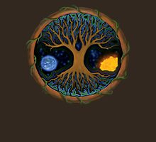 Astral Tree of Life Womens Fitted T-Shirt