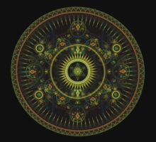 Metatron's Magick Wheel ~ Sacred Geometry by Leah McNeir
