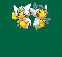 Mega Gardevoir & Mega Gallade Poncho Pikachu T-Shirt