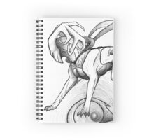 Guardian of Space Spiral Notebook