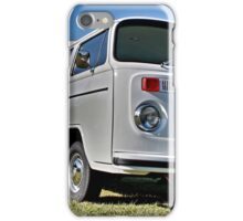 White bay window Volkswagen Kombi at Volksfest 2015 iPhone Case/Skin