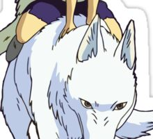 Mononoke riding Sticker