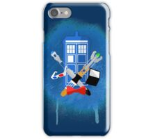 DOCTOR WHO - SPRAY PAINT DESIGN iPhone Case/Skin
