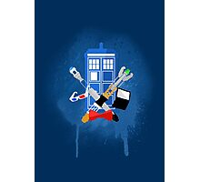 DOCTOR WHO - SPRAY PAINT DESIGN Photographic Print