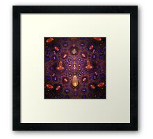Germs in Space Framed Print