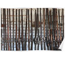 Antique Rifles & Muskets Poster
