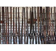 Antique Rifles & Muskets Photographic Print