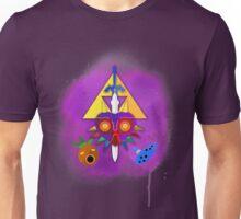 MAJORA'S MASK SPRAY PAINT DESIGN Unisex T-Shirt