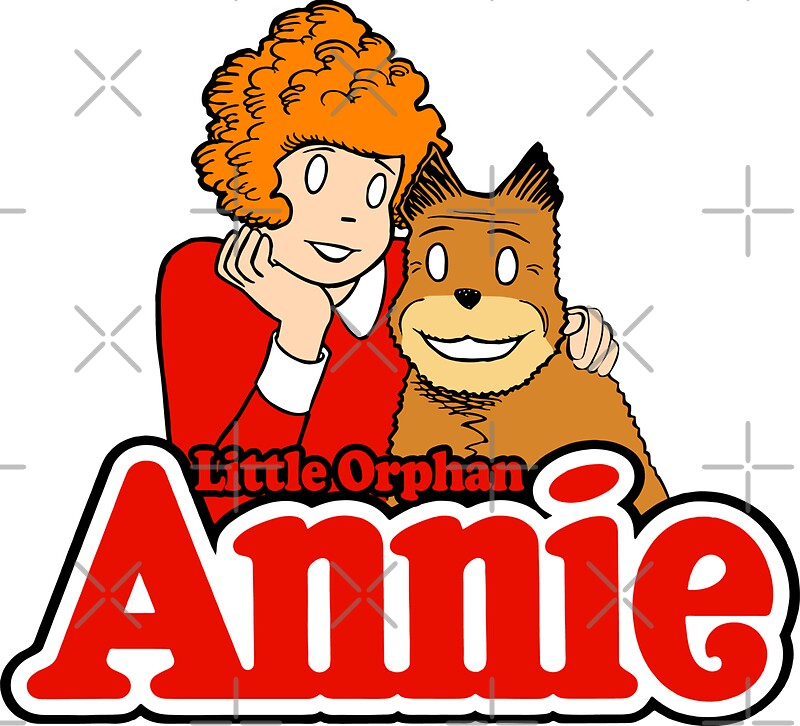 Quot Little Orphan Annie Quot Stickers By Dcdesign Redbubble
